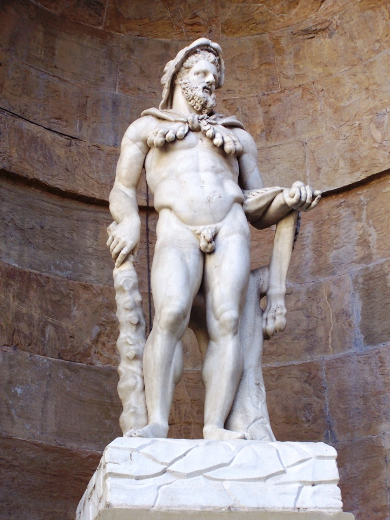 Ammannati Courtyard - Hercules