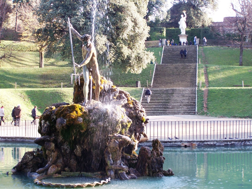 Fountain of Neptune - Forcone Basin