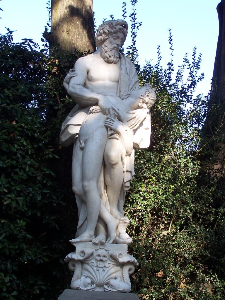 Aesculapius and Hyppolytus, Giovan Battista Caccini, ca 1608