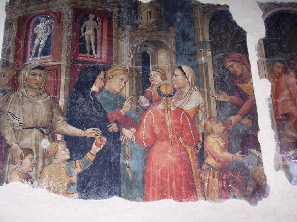 Buonomini - Ghirlandaio fresco 11