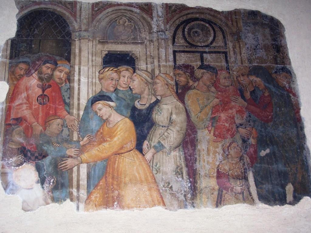 Buonomini - Ghirlandaio fresco 12