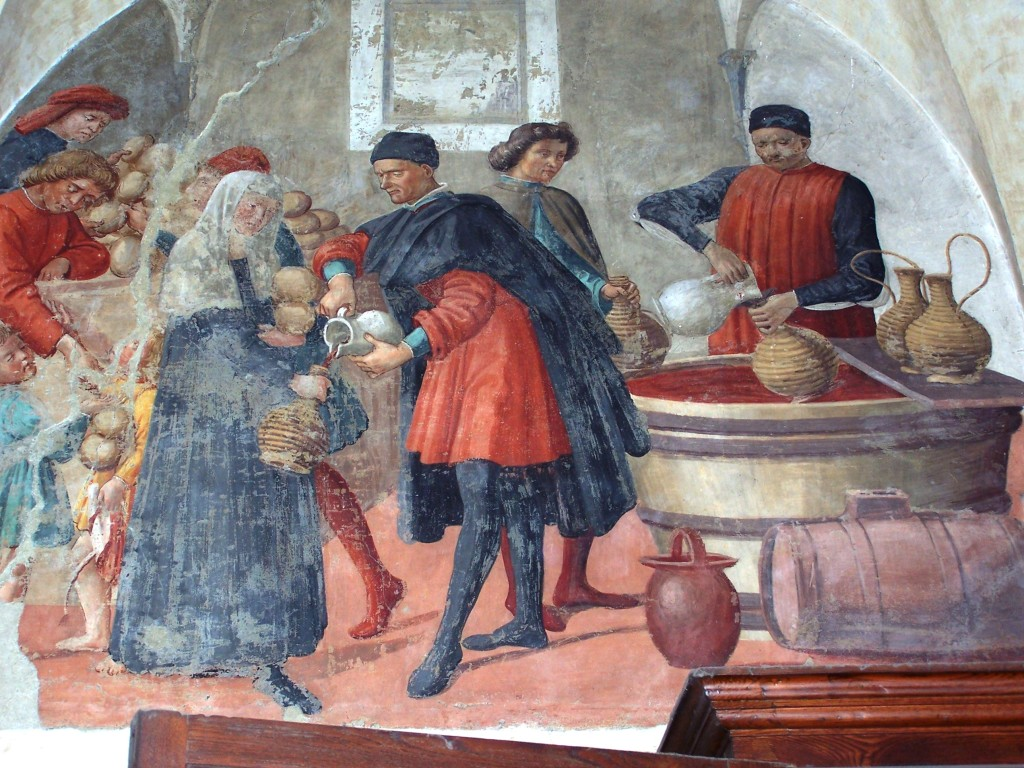 Buonomini - Ghirlandaio fresco 2
