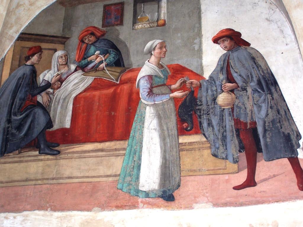 Buonomini - Ghirlandaio fresco 4