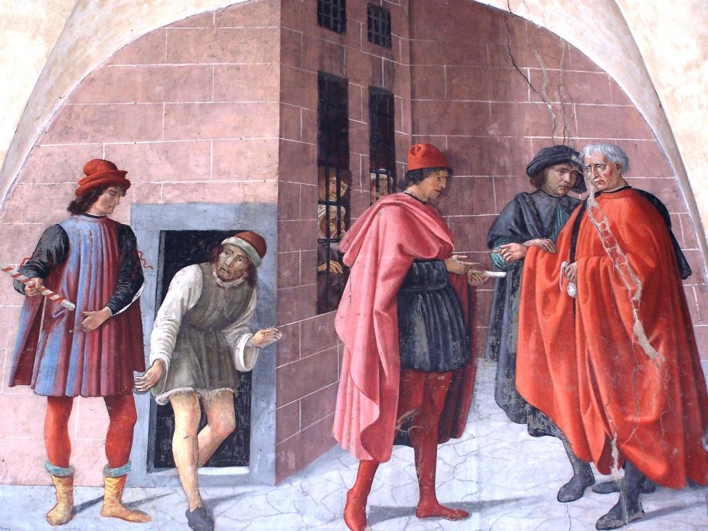 Buonomini - Ghirlandaio fresco 5