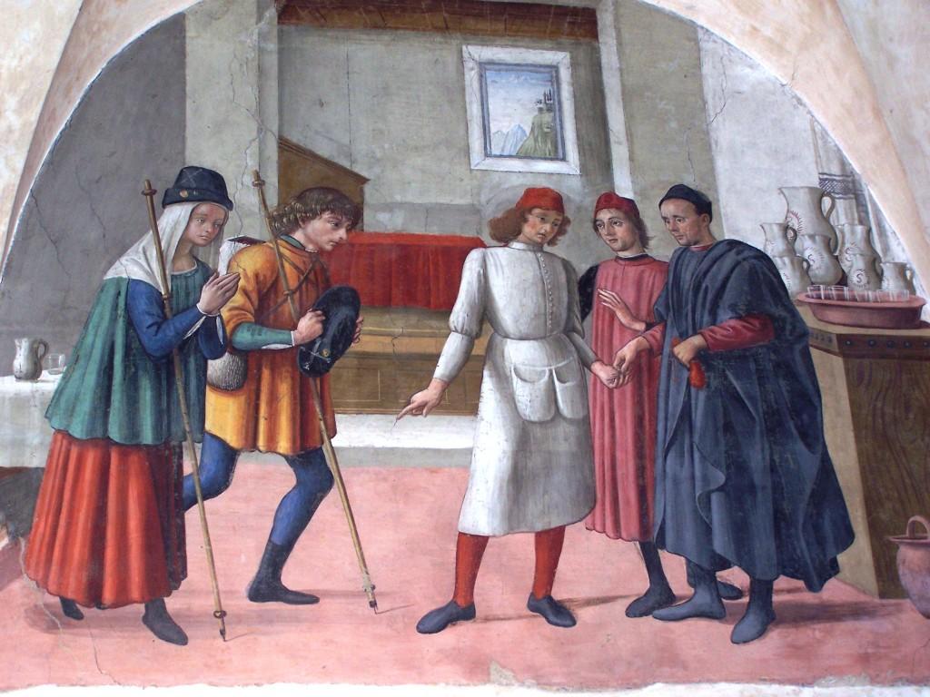 Buonomini - Ghirlandaio fresco 6