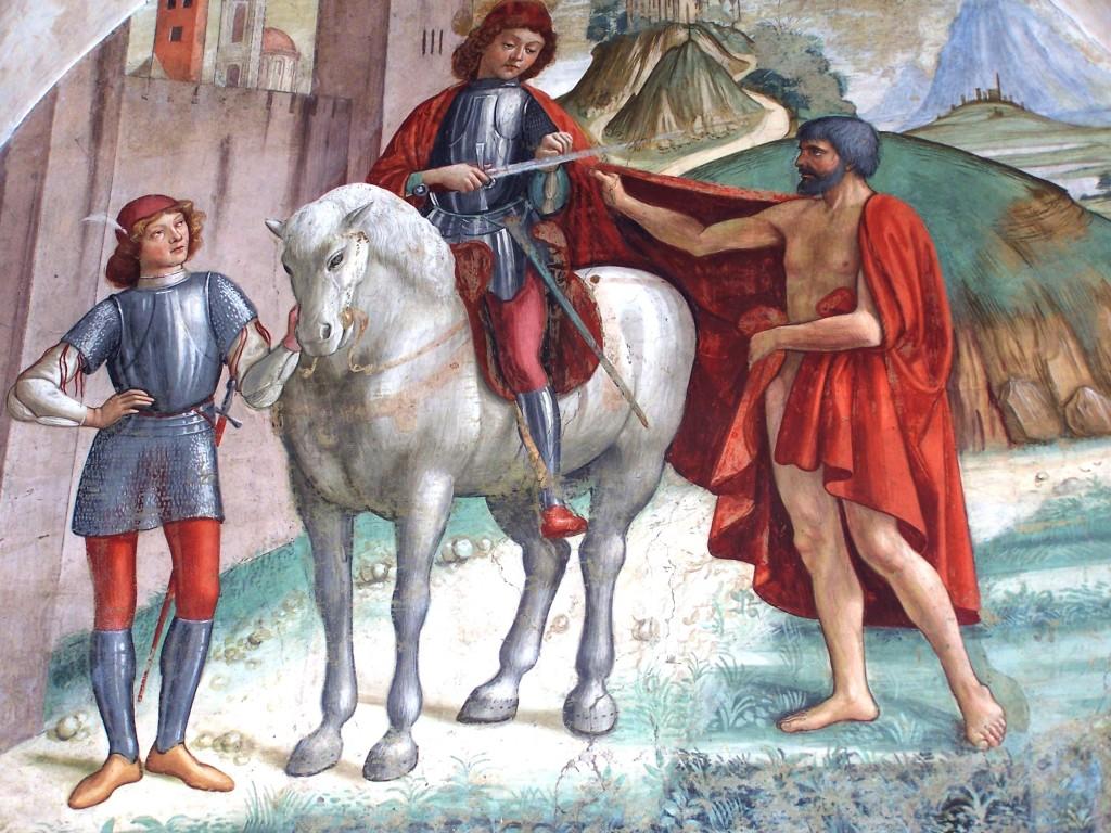 Buonomini - Ghirlandaio fresco 8