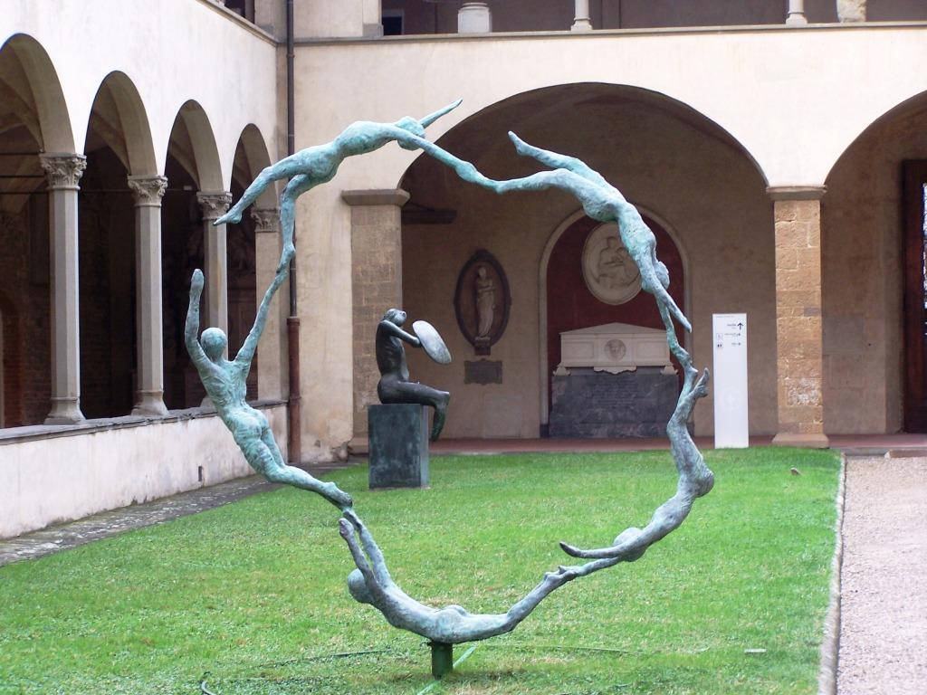100_3887 Pazzi Chapel - garden