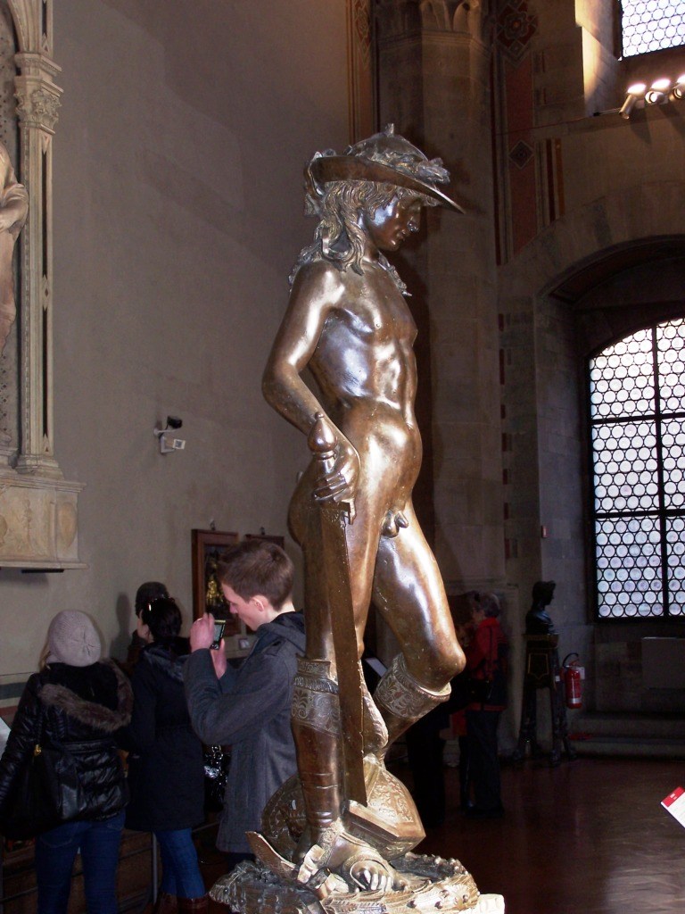 100_3932 Bargello - Donatello's David - bronze