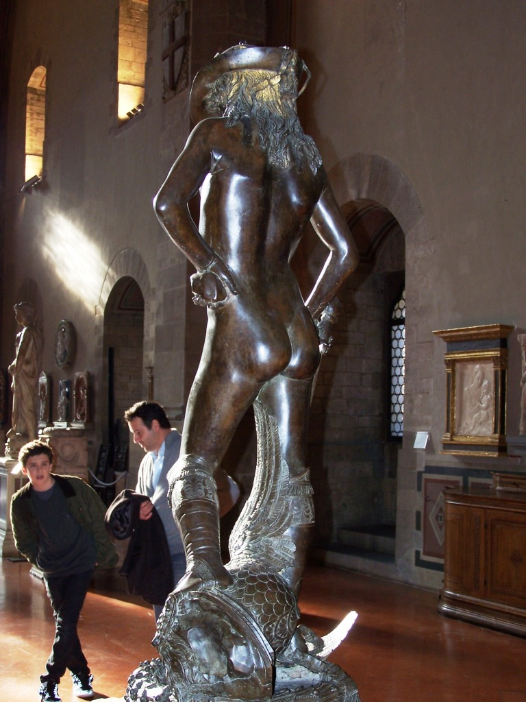 100_3934 Bargello - Donatello's David - bronze