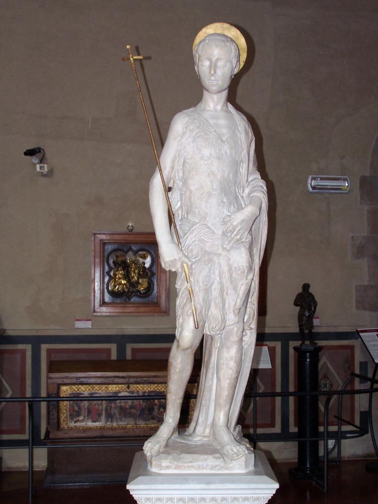 100_3935 Bargello - Desiderio da Settignano's John the Baptist