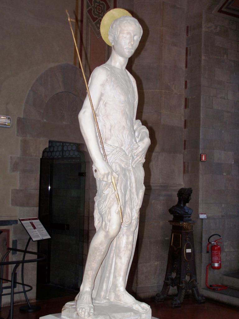 100_3936 Bargello - Desiderio da Settignano's John the Baptist