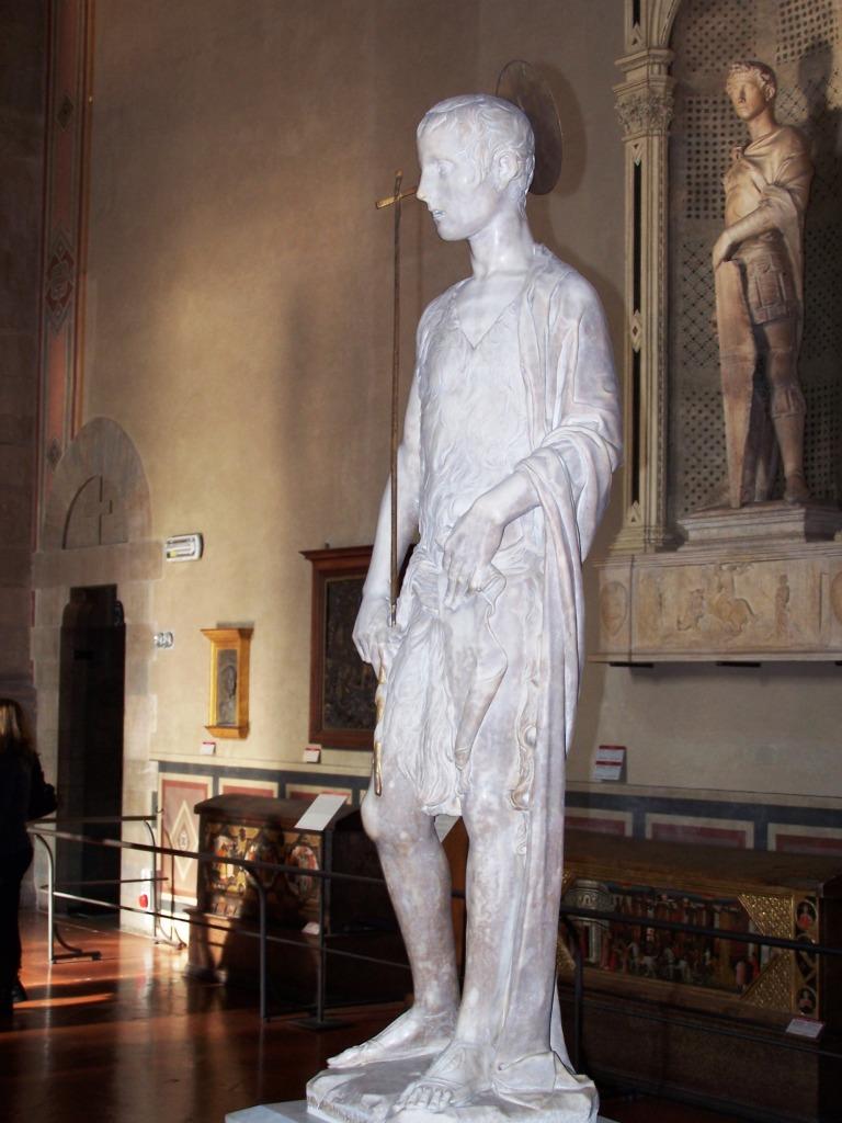 100_3937 Bargello - Desiderio da Settignano's John the Baptist