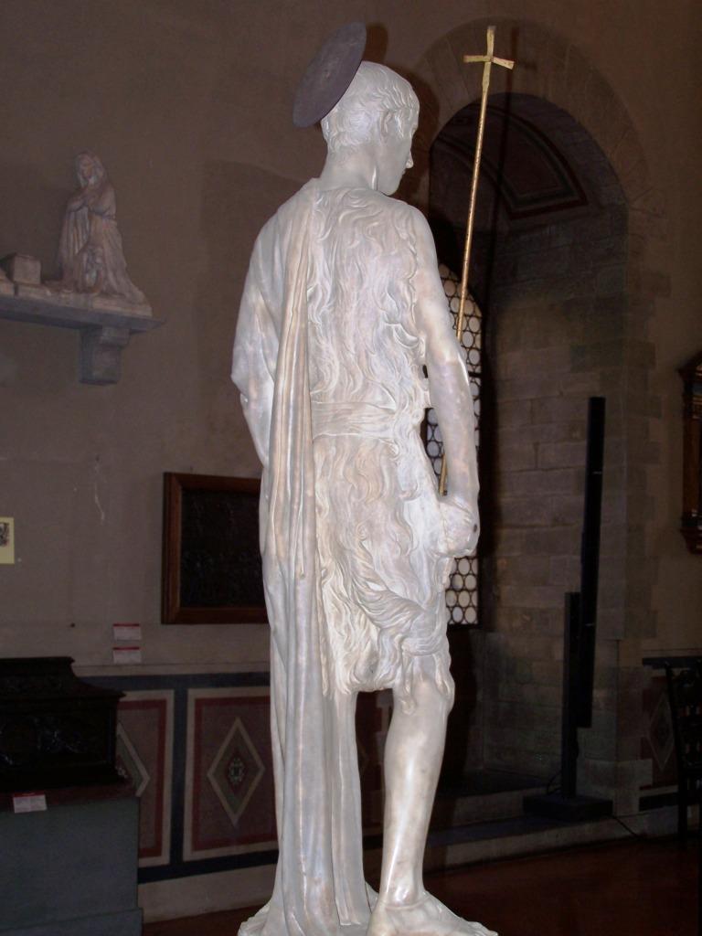 100_3938 Bargello - Desiderio da Settignano's John the Baptist
