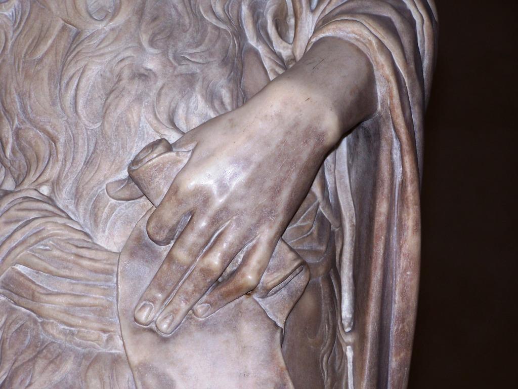 100_3939 Bargello - Desiderio da Settignano's John the Baptist