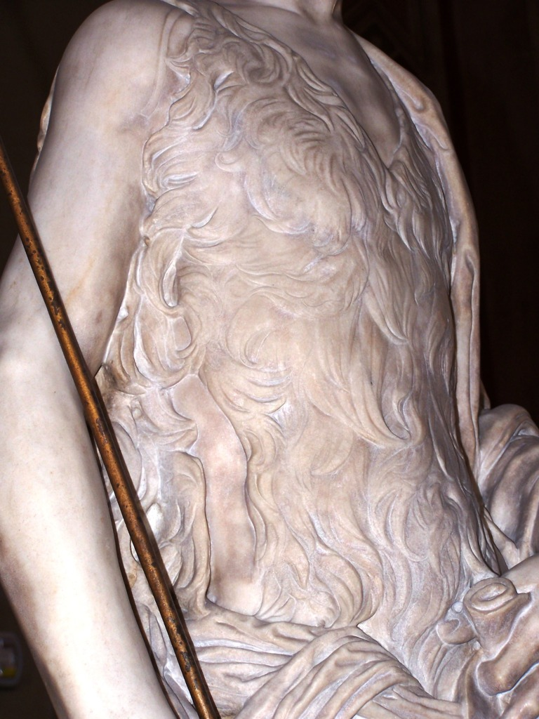 100_3941 Bargello - Desiderio da Settignano's John the Baptist