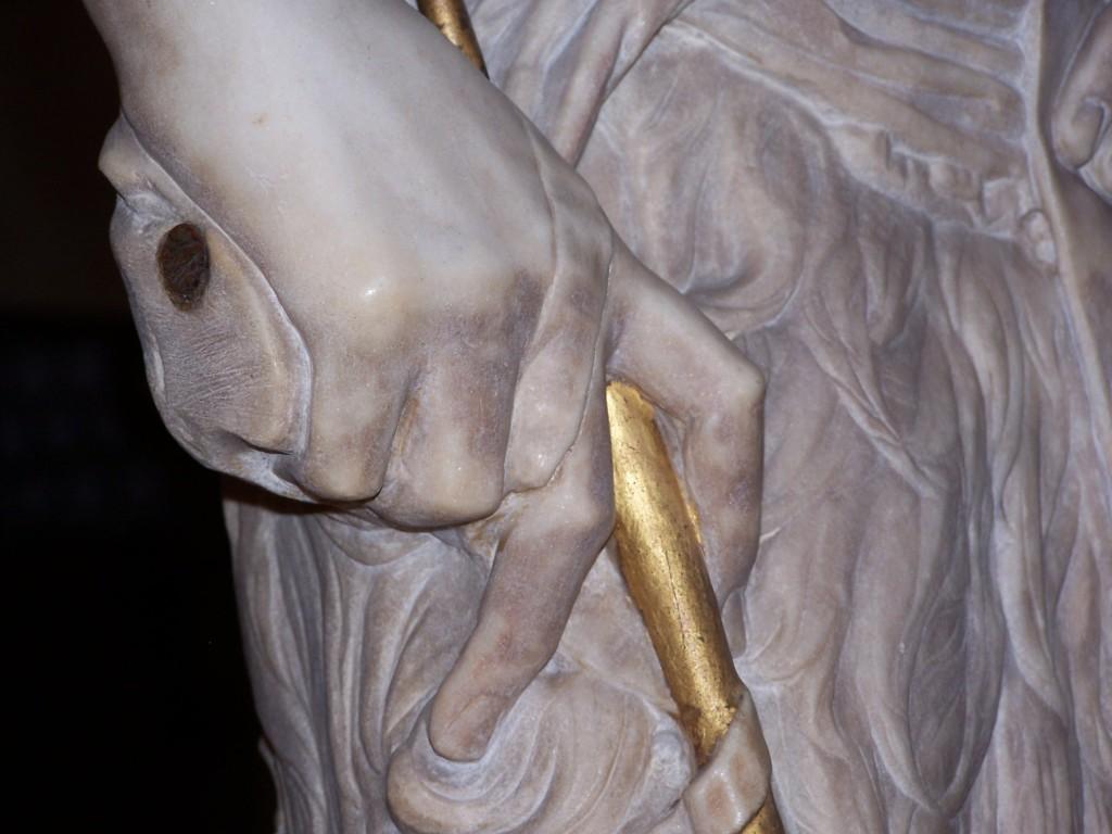 100_3942 Bargello - Desiderio da Settignano's John the Baptist