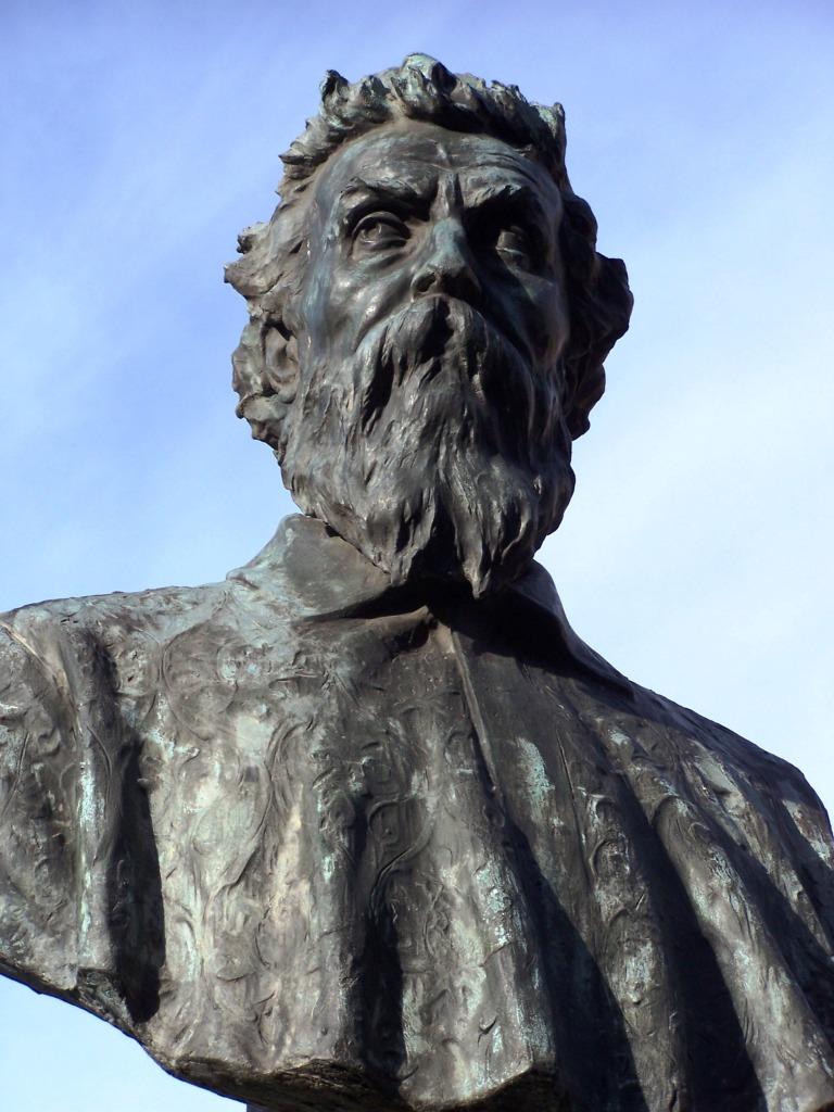 Maestro Cellini on the Ponte Vecchio