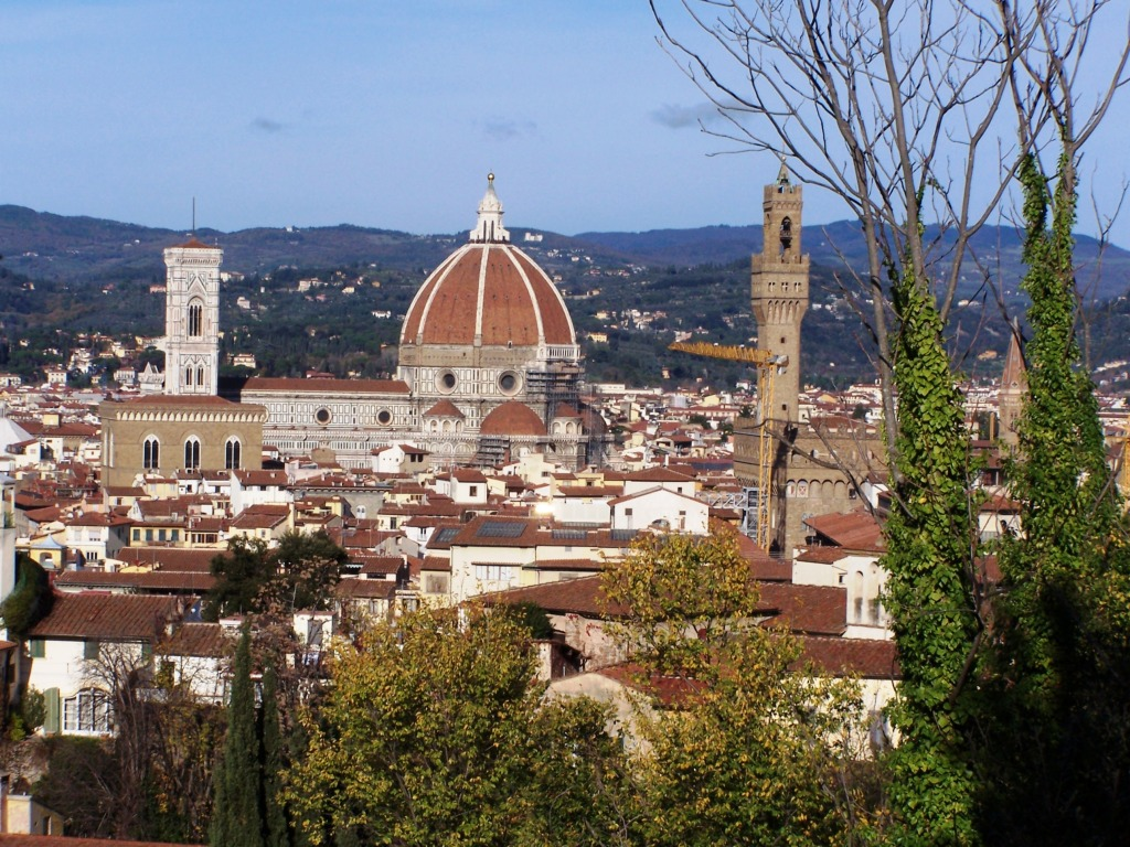 100_4029 Boboli Gardens - Florence view