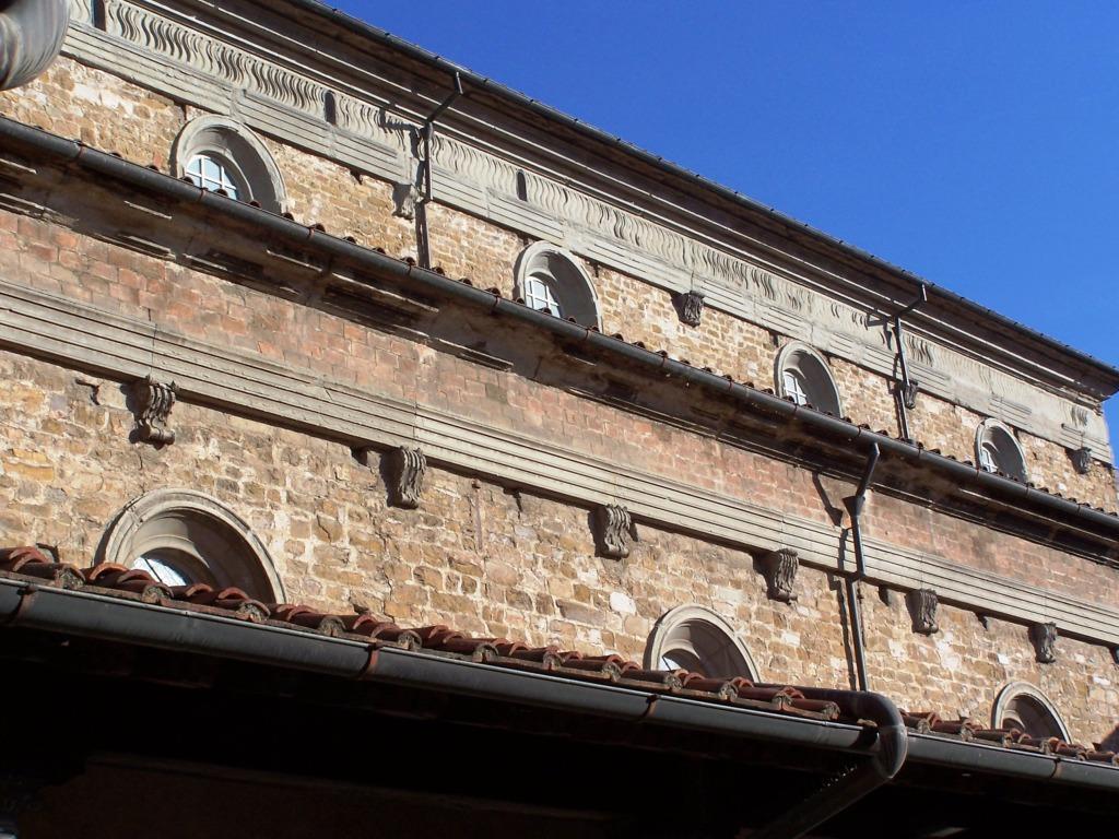 Basilica di San Lorenzo - Michelangelo's plumbing
