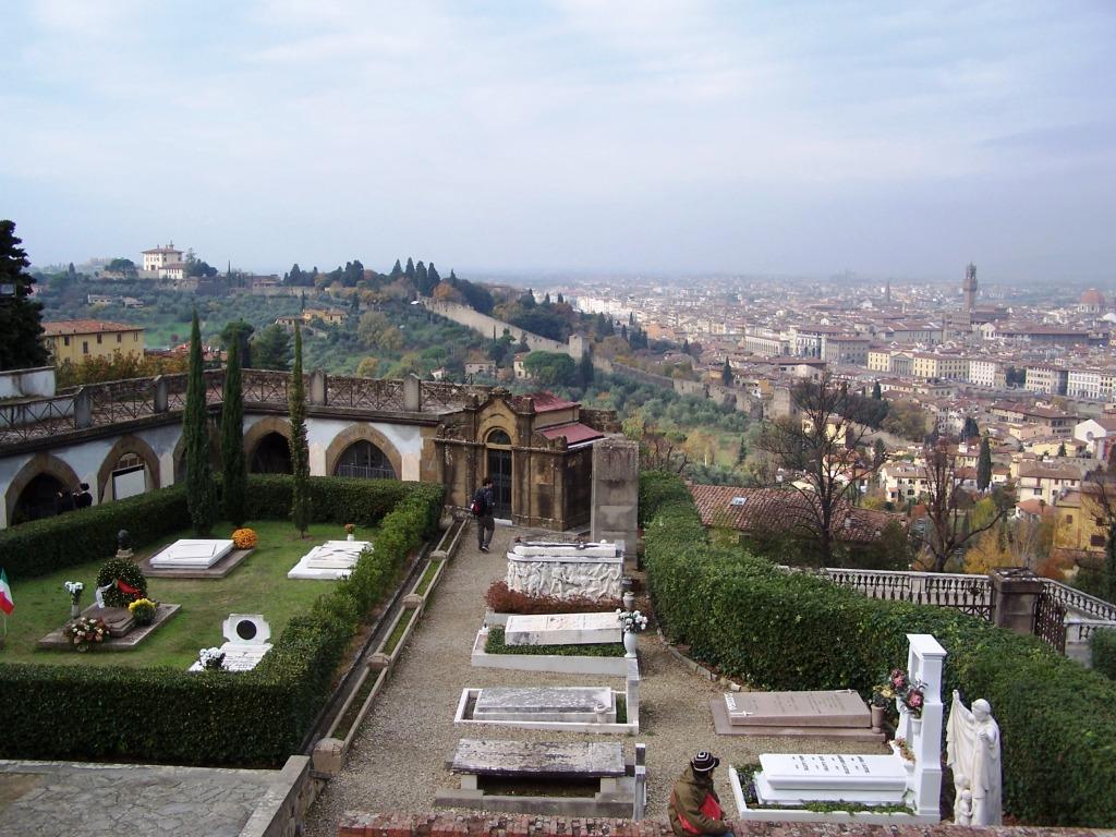 Basilica of San Miniato - cemetery 1