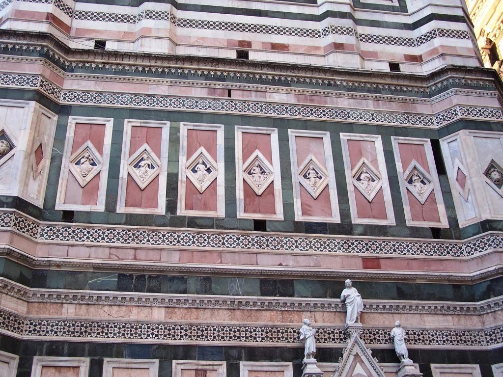 Giotto's Campanile - wall b