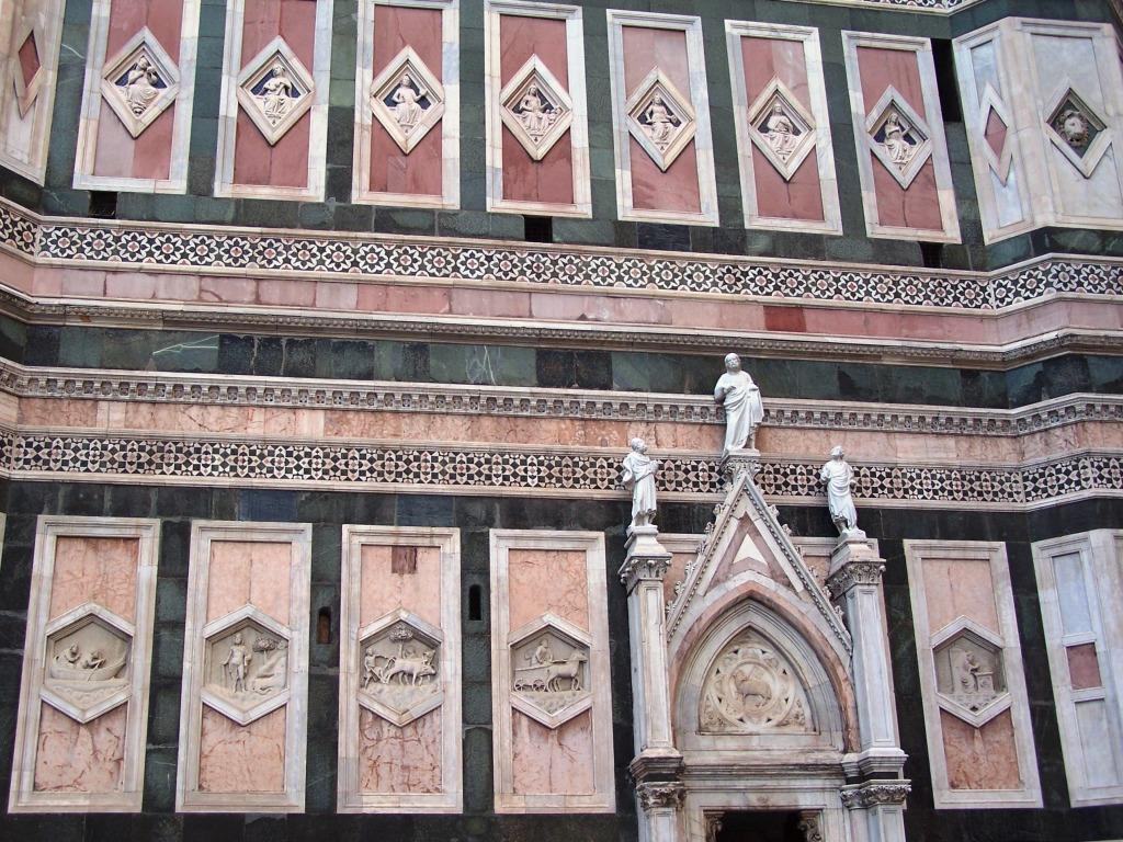 Giotto's Campanile - wall b2
