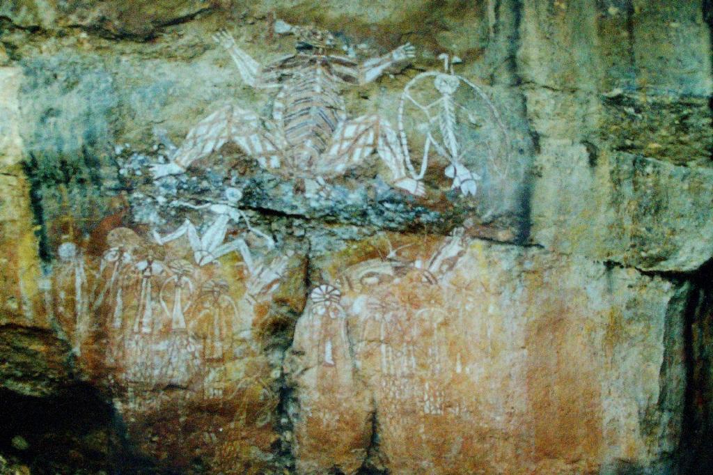 Kakadu - Burrunggui rock art 1