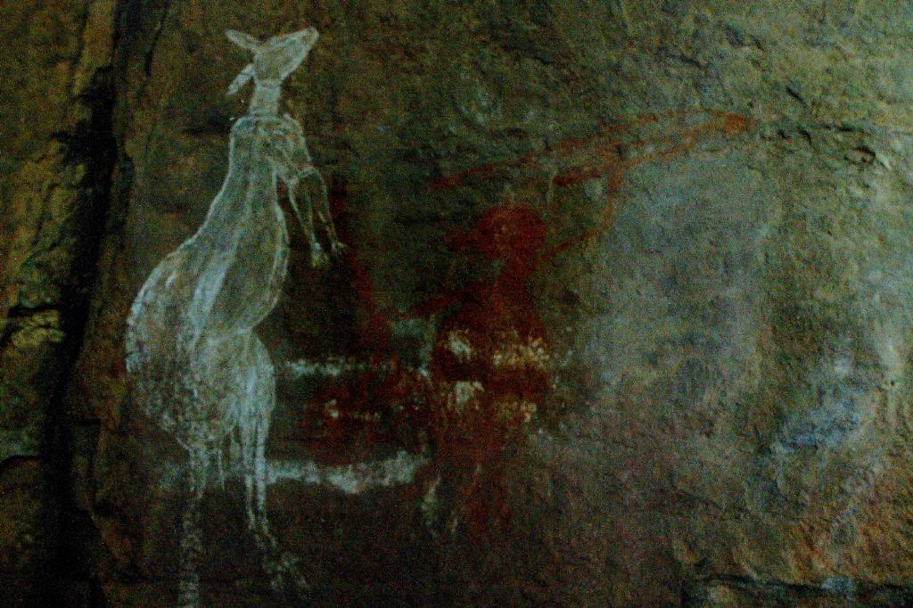 Kakadu - Burrunggui rock art