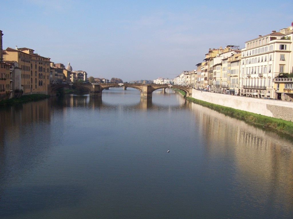 RiverArno view from Ponti 1