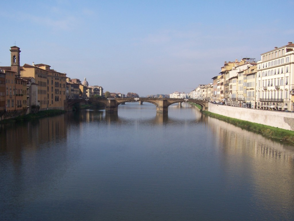 RiverArno view from Ponti 2
