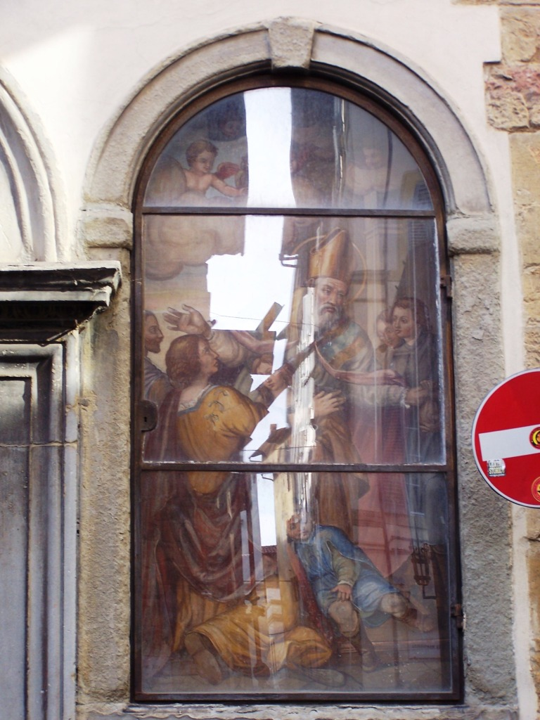 The Buonomini -entrance