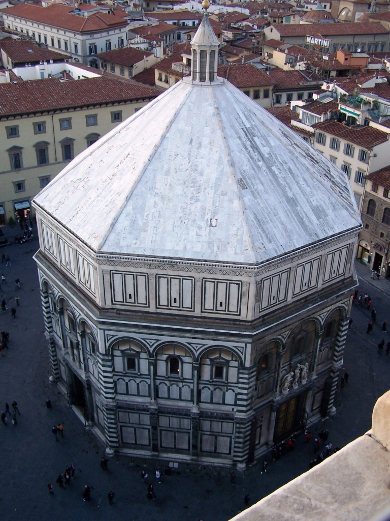 View from Campanile - Baptistery