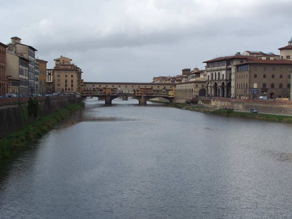 ponte vecchio view 1
