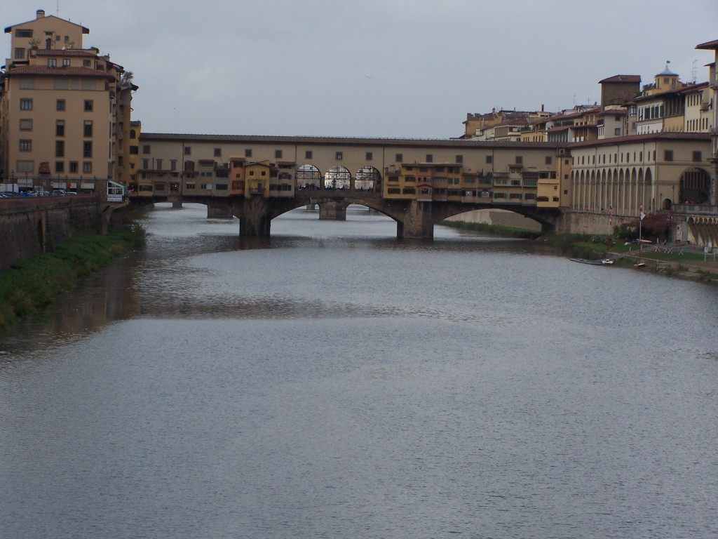 ponte vecchio view 2