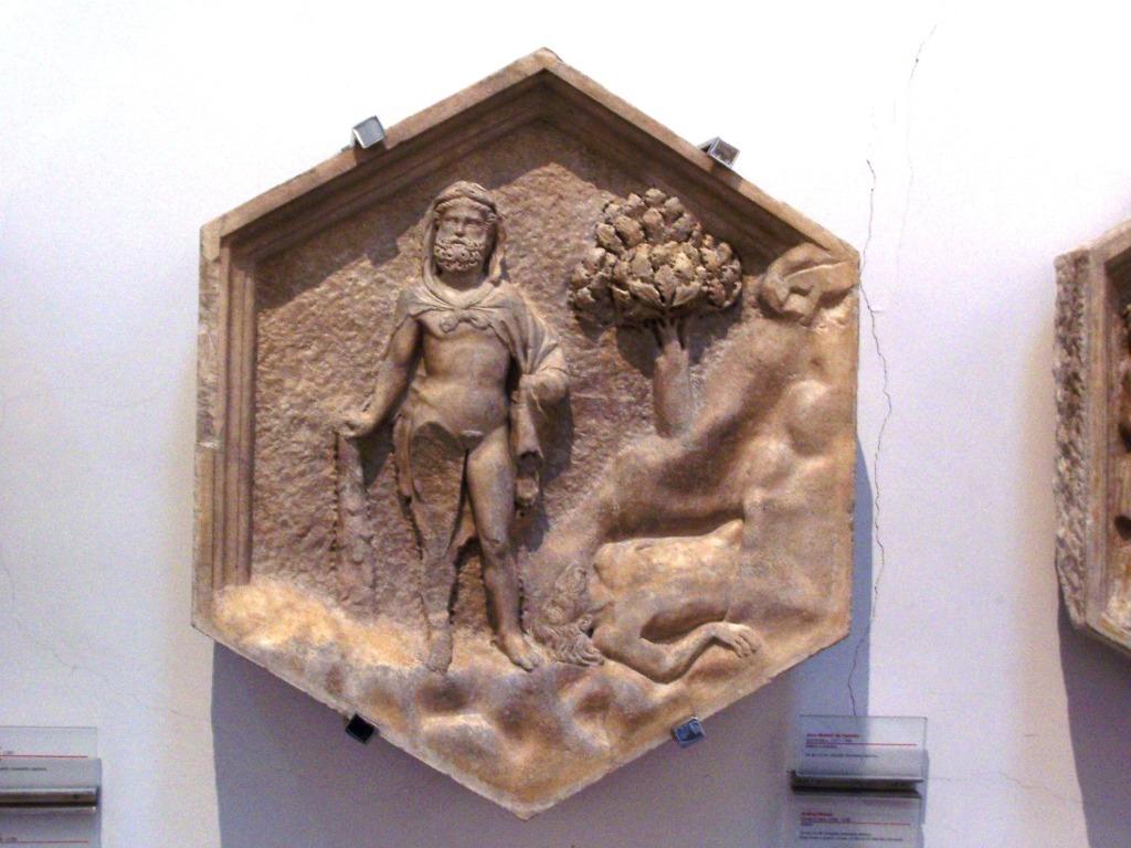 Giotto's campanile _ relief 12