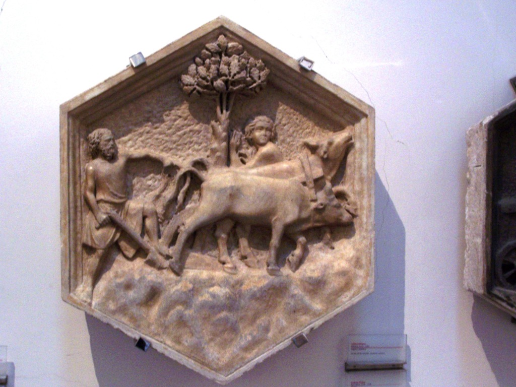 Giotto's campanile _ relief 13