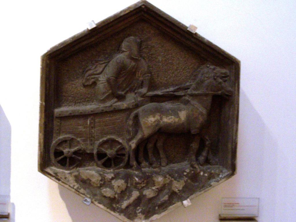 Giotto's campanile _ relief 14