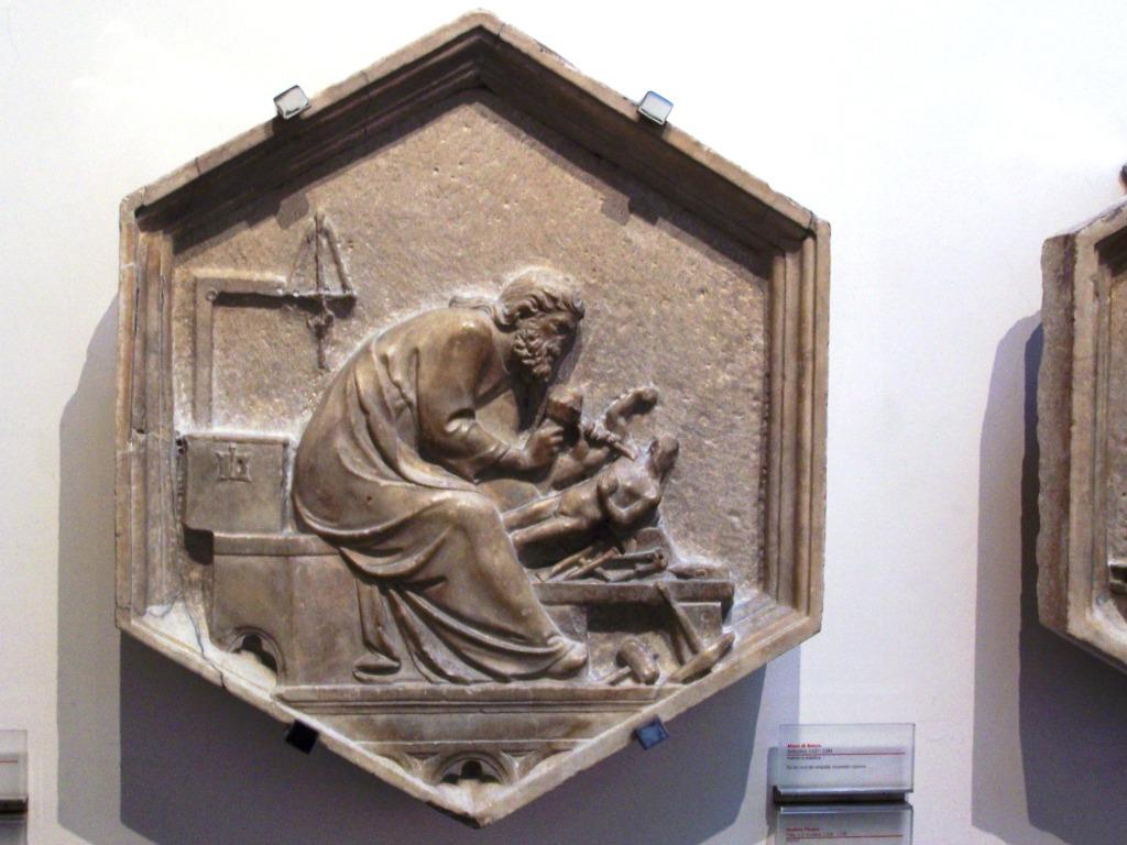 Giotto's campanile _ relief 16