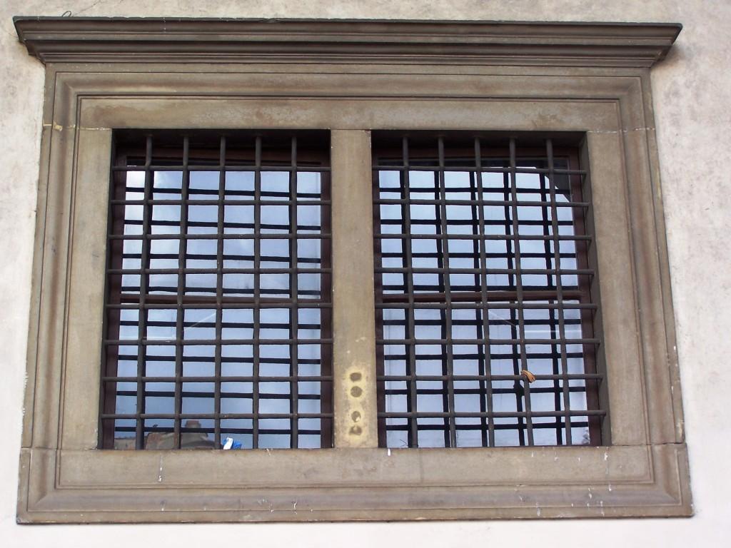 Ospedale degli Innocenti - barred window