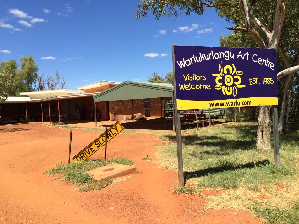 The Warlukurlangu Arts Centre