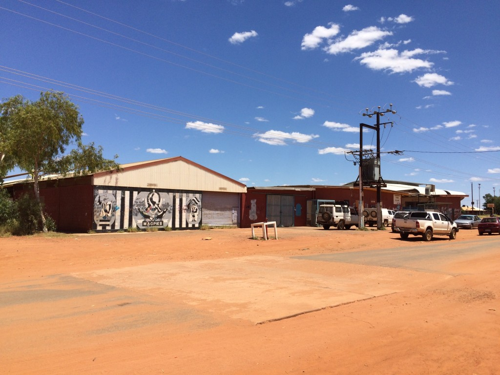 Yuendumu Big Shop - with very big prices