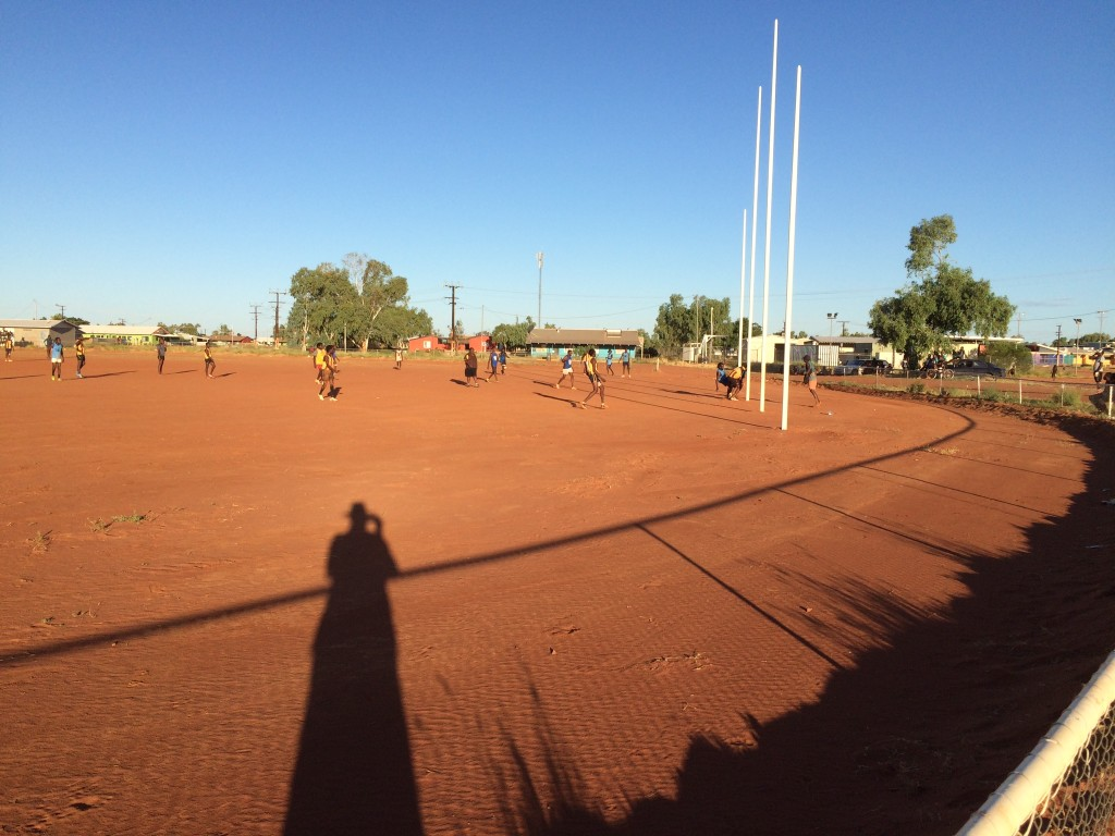 Local footy match
