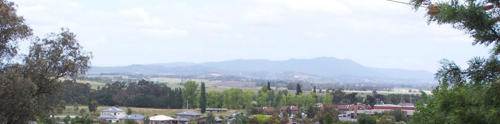 View across the Yarra Valley